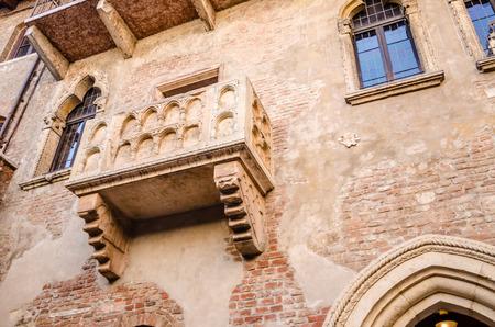 juliets: Juliets balcony, Verona, Italy