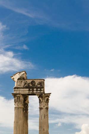 roman column: roman column, Rome, Italy