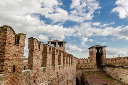 veneto: Castelvecchio fortress in Verona, Veneto, Italy