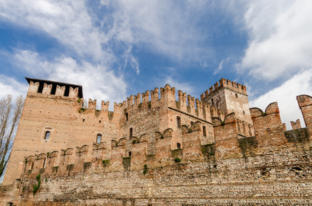 veneto: Castelvecchio, fortress, Verona,  Veneto, Italy