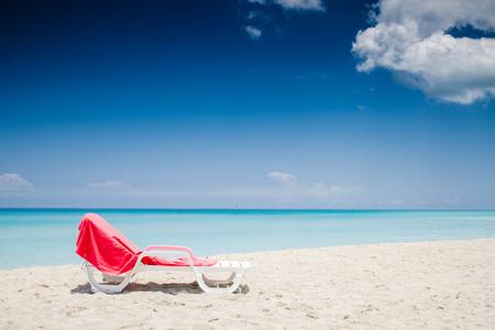 deckchair: deckchair, seashore, caribbean see