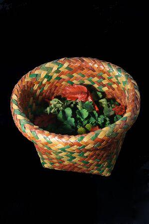 potpourri: Potpourri in Thai-style basket