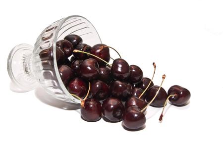 The ripe black cherry favorite, delicious fruit.