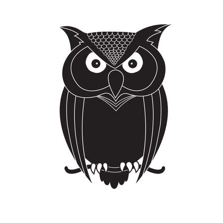 The Owl Is A Symbol Of Knowledge Royalty Free Cliparts Vectors