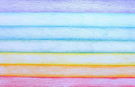 stripe: Stripe Pencil Color Rainbow Background Stock Photo