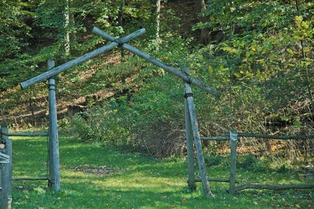 entrance arbor: This arbor is the entrance into the forest