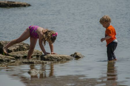 Playing In The Sand photo