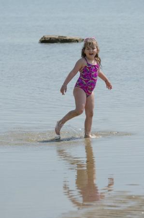 Splashing And Posing photo