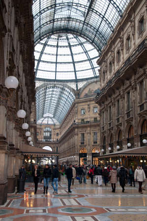 Gallery Vittorio Emanuele II in Milan