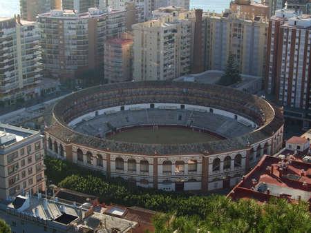 plaza de toros: Plaza de toros (bullring) in Valencia Editorial