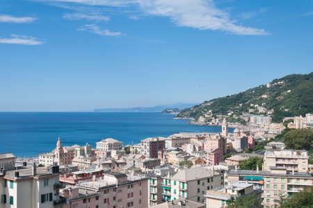 genoa: Voltri in Genoa Italy
