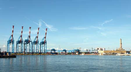 Genoa by sea Italy Editorial