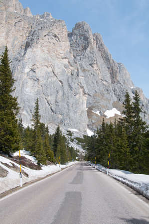 fondle: Dolomites in Italy in winter