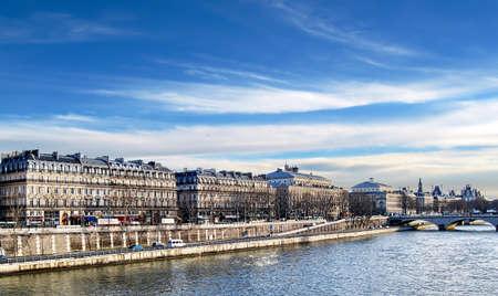 Paris, along the Seine  photo