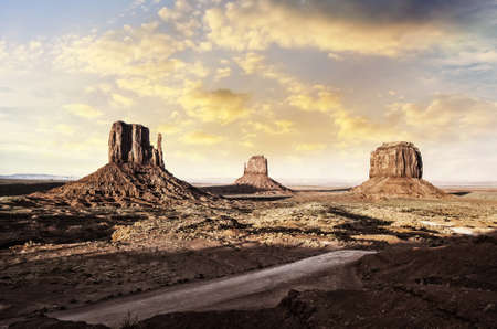 View of Monument Valley from Jhon Ford Point  photo