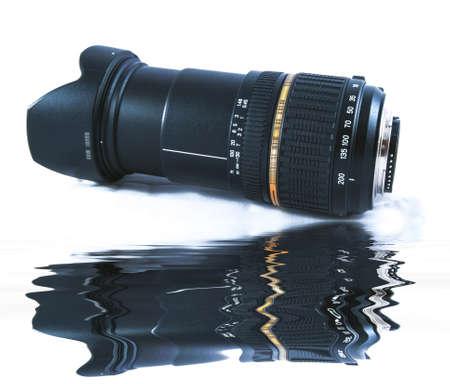 Zoom Camera Lens.