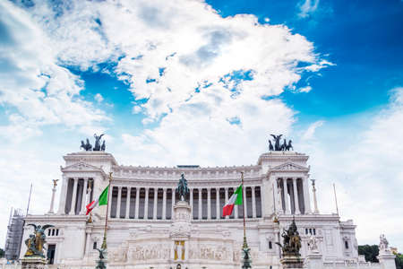 altar of fatherland: Altar of the Fatherland in Rome  Editorial