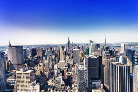 aereal: Aereal view of Manhattan, NYC