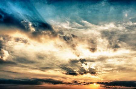 Beautiful sky. Standard-Bild