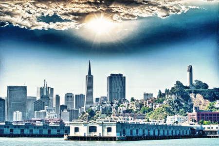 transamerica: Skyline of San Francisco. Editorial