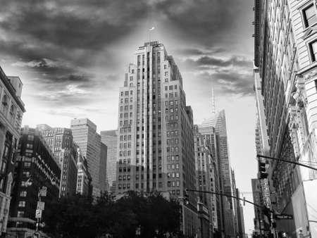 manhattans: Beautiful view of Manhattans skyscraper.