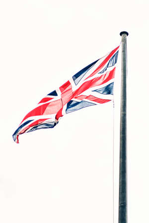 Beautiful view of the Union Jack.