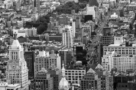 aereal: Aereal view of New York City. Editorial