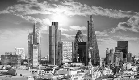 perspectives: Beautiful London skyline.