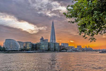Skyline di Londra. Archivio Fotografico - 36343670