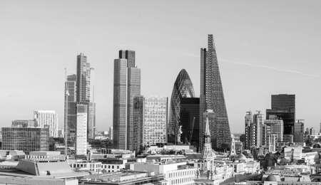 city of london: Beautiful London skyline.