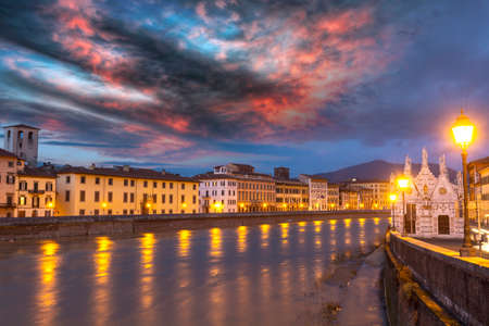 Beautiful view of Pisa.