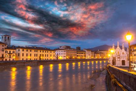 Beautiful view of Pisa.