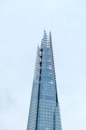 shard: LONDONUK - JENUARY 16: The Shard in London on Jenuary 16, 2015. Stock Photo