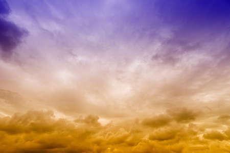 stormy sky: Stormy sky. Stock Photo