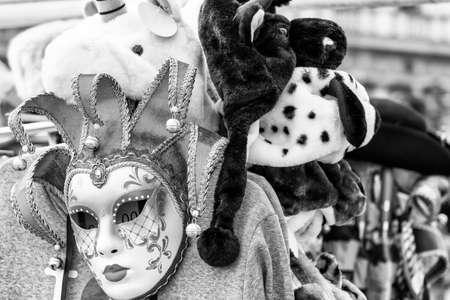 Tipical Venecian mask. Stock Photo
