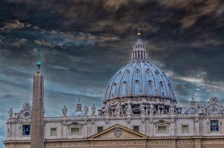 St. Peters Basilica, Vatican, Rome.