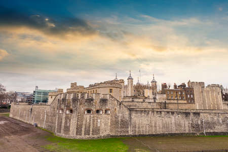 medioeval: Tower Hill, London.