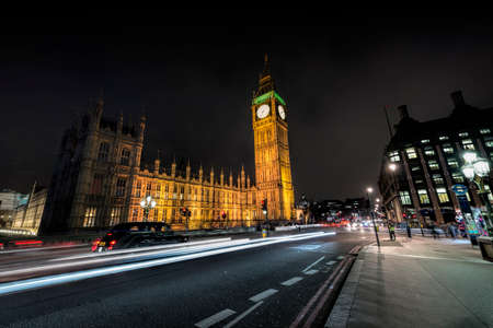 westminster: Westminster by night. Editorial