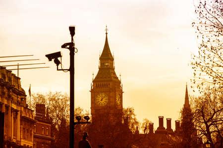 bigben: Particular view of BigBen, London.