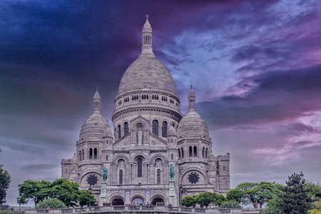 sacre: The Sacre Coeur in Paris.