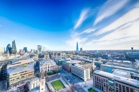 shard: London skyline.