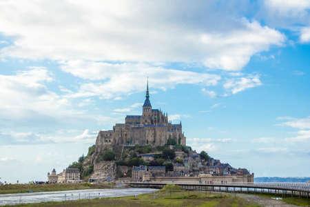 mont saint michel: Mont Saint Michel, France. Stock Photo
