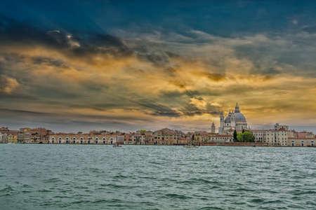 Beautiful panorama of Venice.