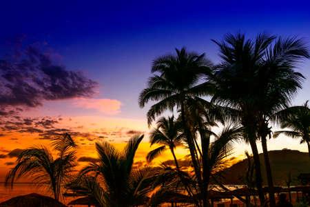 Beautiful sunrise in NosyBe, Mdagascar.