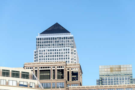 Commercial building in Canary Wharf.
