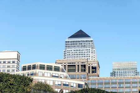 canary wharf: Commercial building in Canary Wharf.