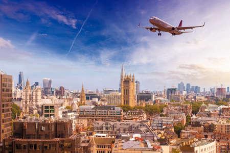 shard: London panoramic view.