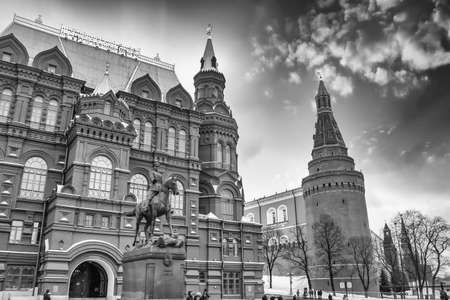 spasskaya: Building on Red Square in Moscow.