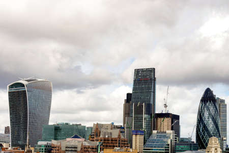 shard: London, new skyline. Stock Photo