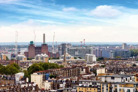 Differnt skyline of London. Stock Photo
